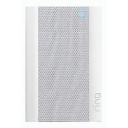 """Ring Wi-Fi Enabled Chime Pro, 2.72""""H x 1""""W x 4.06""""D, White/Gray"""