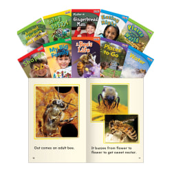 Teacher Created Materials TIME FOR KIDS® Nonfiction Book Set, Set 3, Set Of 10 Books, Grade 1