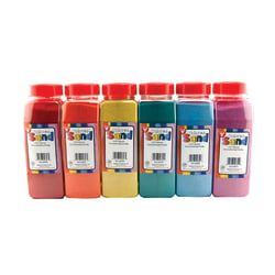 Hygloss Bucket O' Sand, Assorted Colors, Pack Of 18