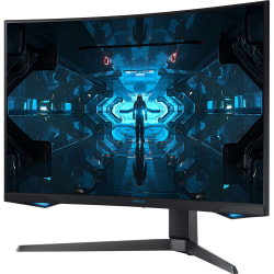 "Samsung Odyssey G7 C32G75TQSN 31.5"" WQHD Curved Screen Quantum Dot LED Gaming LCD Monitor - 16:9 - Black - 32"" Class - Vertical Alignment (VA) - 2560 x 1440 - 1.07 Billion Colors - 1 ms GTG - 240 Hz Refresh Rate"