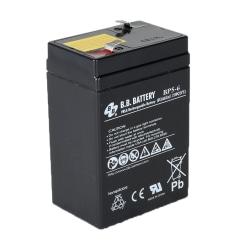 B & B BP Series Battery, BP5-6, B-SLA650