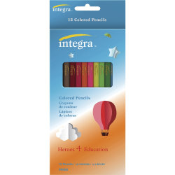 Integra Colored Pencil - 12 / Pack