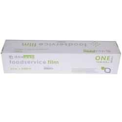 """Daxwell Food Film Wrap, 24"""" x 2,000', Clear"""