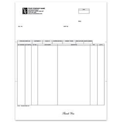 "Custom Laser Picking List For Dynamics®/Great Plains®/Microsoft®, 8 1/2"" x 11"", 1 Part, Box Of 250"
