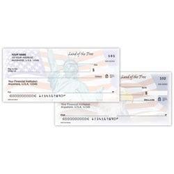 "Personal Wallet Checks, 6"" x 2 3/4"", Duplicates, American Dream, Box Of 150"