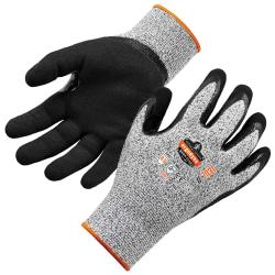 Ergodyne ProFlex 7031 Polyethylene Nitrile-Coated Gloves, XL, Gray