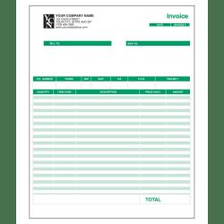 "Custom Laser Forms, Invoice For QuickBooks®, 8 1/2"" x 11"",  Box Of 250"