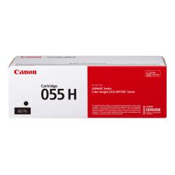 Canon CRG 055H High-Yield Toner Cartridge, Black, 3020C001