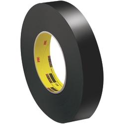 """3M™ 226 Masking Tape, 3"""" Core, 1"""" x 180', Black"""