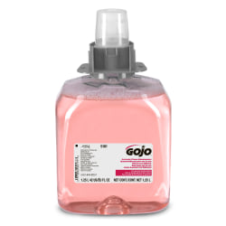 GOJO® Luxury Foam Hand Soap, Cranberry Scent, 42 Oz Bottle