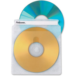 Fellowes® Double-Sided CD Sleeves, Pack Of 50
