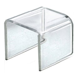 "Azar Displays Acrylic Riser Displays, 2-1/2""H x 2-1/2""W x 2-1/2""D, Clear, Pack Of 4 Risers"