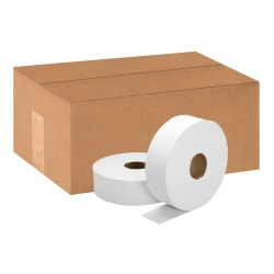 SKILCRAFT® Jumbo Roll 2-Ply Toilet Paper, 100% Recycled, 2000' Per Roll, Pack Of 6 Rolls