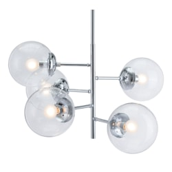 Zuo Modern Somerset Ceiling Lamp Chrome