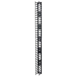 APC by Schneider Electric Vertical Cable Manager for NetShelter SX 750mm Wide 42U (Qty 2) - Black - 2 Pack - 42U Rack Height