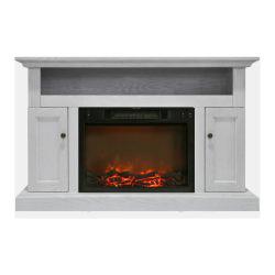 Cambridge Sorrento Fireplace Mantel with Electronic Fireplace Insert - Indoor - Freestanding
