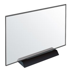 """Azar Displays Acrylic Frame Sign Holders, 8-1/2""""H x 11""""W x 3-1/8""""D, Clear, Pack Of 2 Holders"""