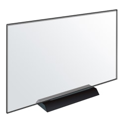 """Azar Displays Acrylic Frame Sign Holders, 11""""H x 17""""W x 1/4""""D, Clear, Pack Of 2 Holders"""