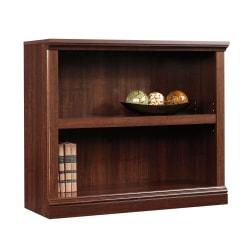 Sauder® Select Bookcase, 2 Shelf, Select Cherry