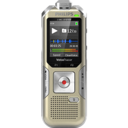 Philips Digital Voice Tracer 8010 Audio Recorder, Champagne/Silver Shadow