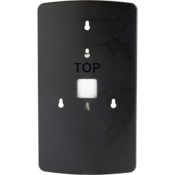 Genuine Joe OmniPod Dispenser Wallplate - Black