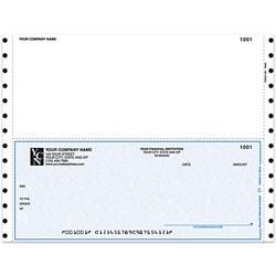 "Custom Continuous Multipurpose Voucher Checks For Great Plains®, 9 1/2"" x 7"", 3 Parts, Box Of 250"