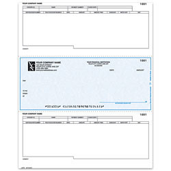 "Custom Laser Accounts Payable Checks For Dynamics®/Great Plains®/Microsoft®, 8 1/2"" x 11"", 2 Parts, Box Of 250"