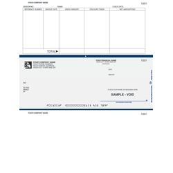 "Custom Laser Accounts Payable Checks For ACCPAC®, 8 1/2"" x 11"", 1 Part, Box Of 250"