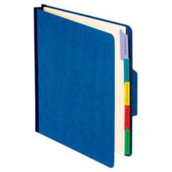 Pendaflex® PressGuard® Employee/Personnel Folders, Letter Size, Blue, Pack Of 10