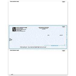 """Custom Laser Multipurpose Voucher Checks For Business Works®, 8 1/2"""" x 11"""", Box Of 250"""