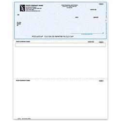 """Custom Laser Multipurpose Voucher Checks For ACCPAC®, 8 1/2"""" x 11"""", Box Of 250"""
