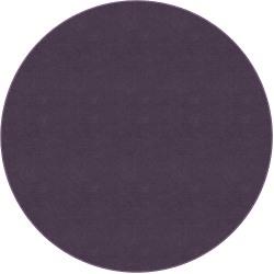 Flagship Carpets Americolors Rug, Round, 6', Pretty Purple
