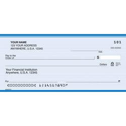 """Personal Wallet Checks, 6"""" x 2 3/4"""", Duplicates, Monarch, Box Of 150"""
