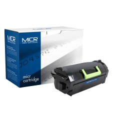 Clover Technologies Group™ MCR817M (Lexmark™ 53B1000) Remanufactured Black MICR Toner Cartridge