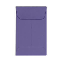 "LUX Coin Envelopes, #1, 2 1/4"" x 3 1/2"", Wisteria, Pack Of 250"