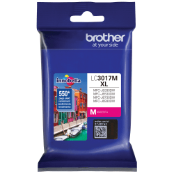 Brother Innobella LC3017M High-Yield Magenta Ink Cartridge