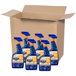Microban® Professional 24-Hour Disinfectant Multipurpose Cleaner, Citrus, 32 Oz, Pack Of 6 Bottles