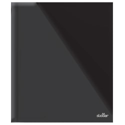 Office Depot® Brand Laminated 3-Prong Paper Folder, Letter Size, Black