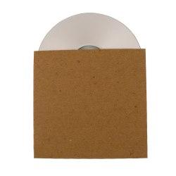 ReBinder™ ReSleeve 100% Recycled Cardboard CD Sleeves (No View), Brown, Pack Of 25