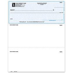 "Custom Laser Multipurpose Voucher Checks, With Lines For Quicken® / Quickbooks® / Microsoft®, 8 1/2"" x 11"", 2 Parts, Box Of 250"
