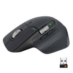 Logitech® MX Master 3 Advanced Wireless Laser Mouse, Black, 910-005647
