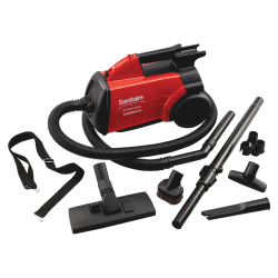 Eureka® Sanitaire Commercial Canister Vacuum, Red