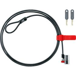 Kensington ClickSafe® On Demand Keyed Laptop Lock, Color