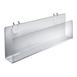 """Azar Displays Deluxe Display Cylinder, 8""""H x 10""""W x 10""""D, Clear"""