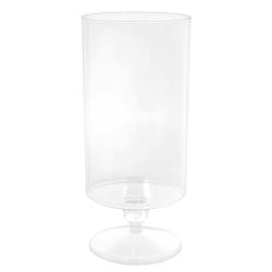 Amscan Tall Plastic Cylinder Jar, 83 Oz, Clear