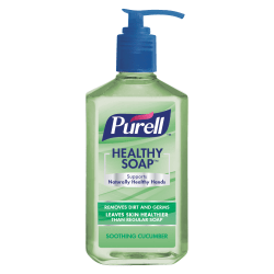 Purell® Healthy Gel Hand Soap, Soothing Cucumber Scent, 12 Oz Bottle