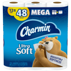 Charmin Ultra Strong 2 Ply Bathroom Tissue - Office Depot
