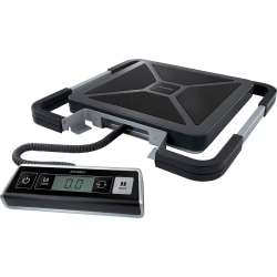 DYMO® Digital USB Shipping Scale With Remote Display, 250-Lb Capacity, Silver