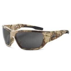 Ergodyne Skullerz® Safety Glasses, Baldr, Polarized, Kryptek Highlander Frame, Smoke Lens
