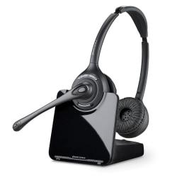 Plantronics® CS520 Wireless Office Phone Headset, Black/Gray